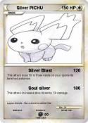 Silver PICHU