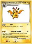 Winged Pikachu