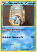 Blastoise EX