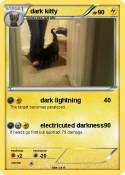 dark kitty