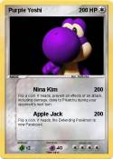 Purple Yoshi