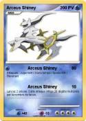 Arceus Shiney