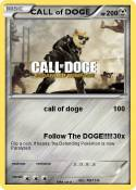 CALL of DOGE