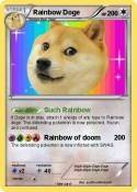 Rainbow Doge