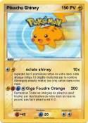 Pikachu Shiney