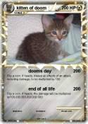 kitten of doom