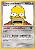 Homero poseido