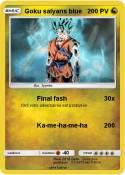 Goku saiyans