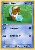 Squirtle x