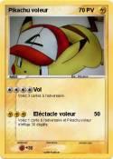 Pikachu voleur