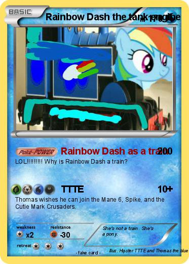railway explosion pony