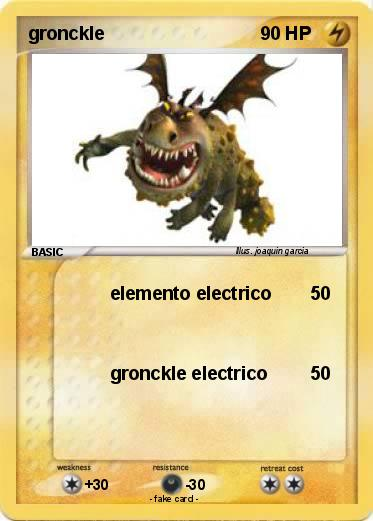 pokémon gronckle 24 24 elemento electrico my pokemon card