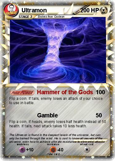 Pokémon Ultramon 8 8 - Hammer of the Gods - My Pokemon Card