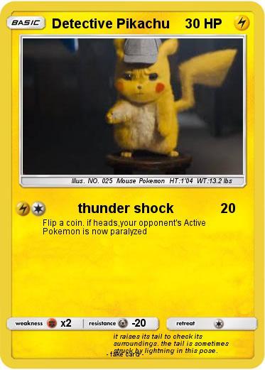 pok u00e9mon detective pikachu 9 9 - thunder shock