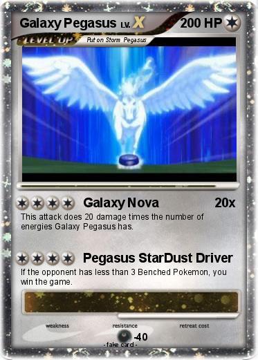 Pokémon Galaxy Pegasus 247 247 - Galaxy Nova - My Pokemon Card