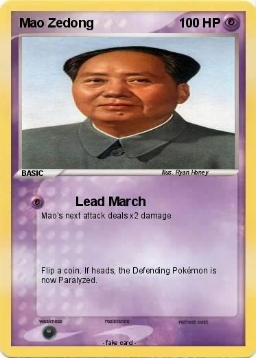pokemon mao zedong