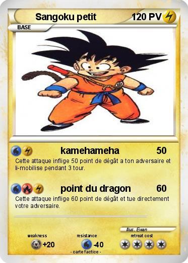Pok mon sangoku petit 20 20 kamehameha ma carte pok mon - Petit sangoku ...