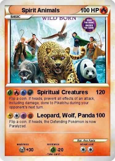 pok233mon spirit animals 1 1 spiritual creatures my