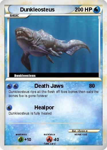 Pok mon Dunkleosteus 1 1 Death