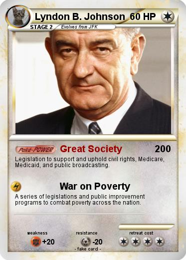 A research on lyndon johnson and the great society Essay