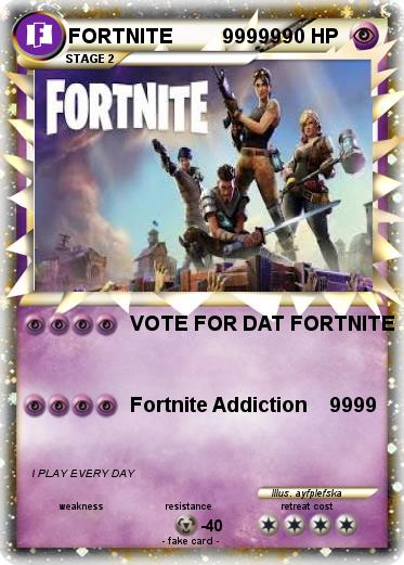 Pok 233 Mon Fortnite 99999 1 1 Vote For Dat Fortnite My