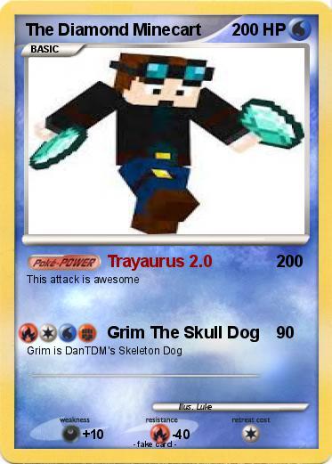 pokémon the diamond minecart 16 16 trayaurus 2 0 my pokemon card