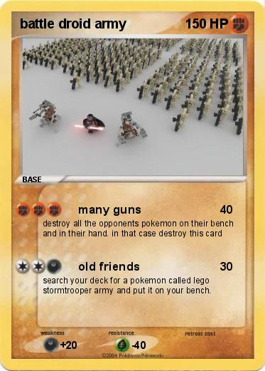 Pokemon battle droid army