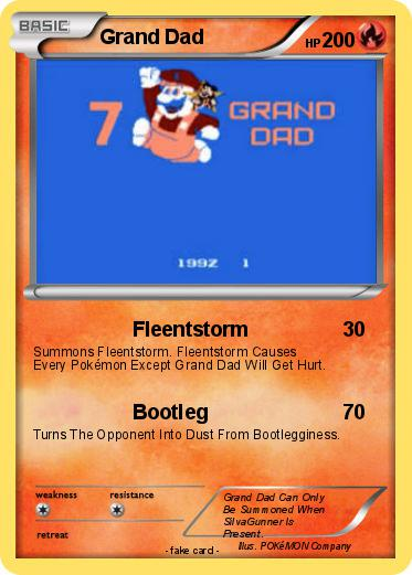 ca0c237a Pokémon Grand Dad 1 1 - Fleentstorm - My Pokemon Card