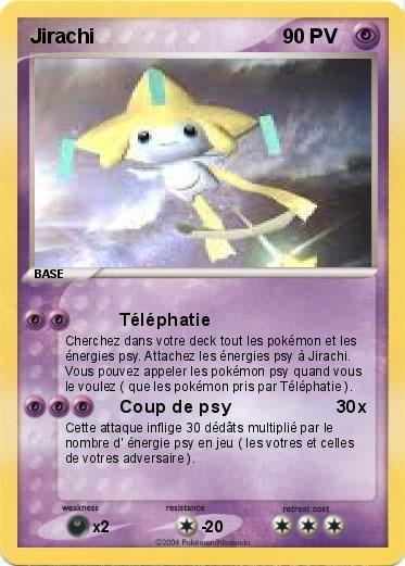 Pok mon jirachi 155 155 t l phatie ma carte pok mon - Carte pokemon jirachi ...