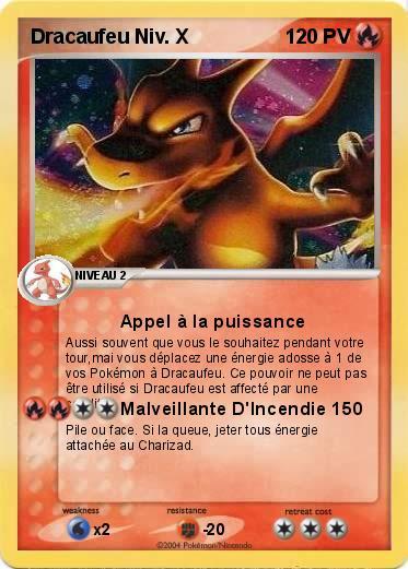 Pok mon dracaufeu niv x 25 25 appel la puissance ma - Pokemon dracaufeu x ...