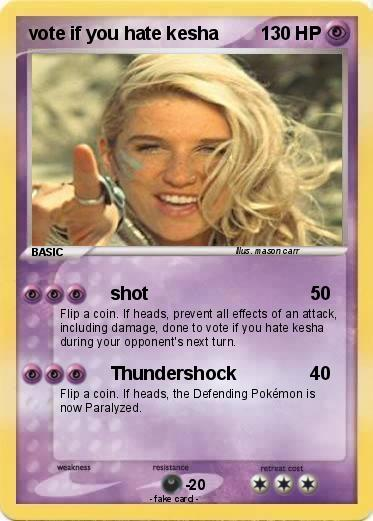 pokemon vote if you hate kesha