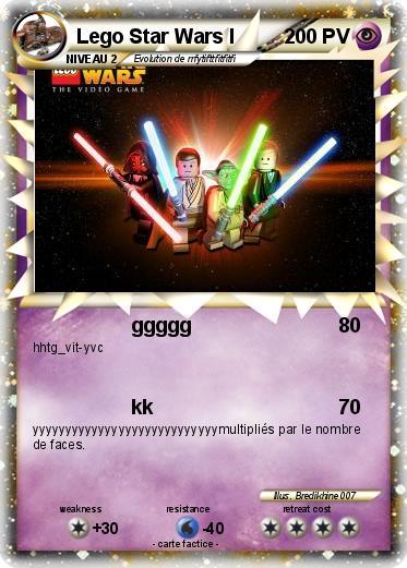 Pok mon lego star wars i ggggg ma carte pok mon - Coloriage lego starwars ...