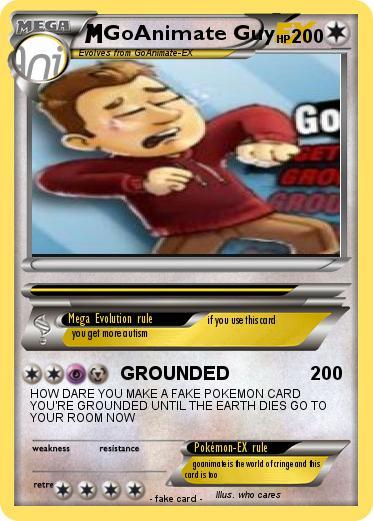 make a fake pokemon card