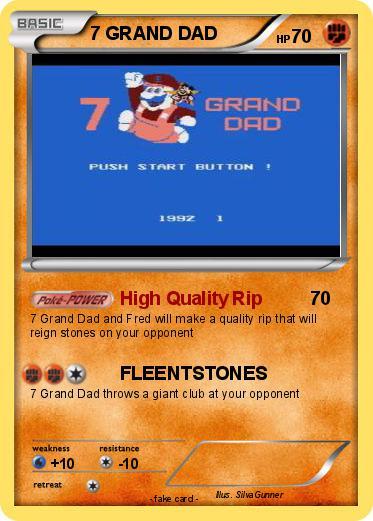 a934346e Pokémon 7 GRAND DAD - High Quality Rip - My Pokemon Card