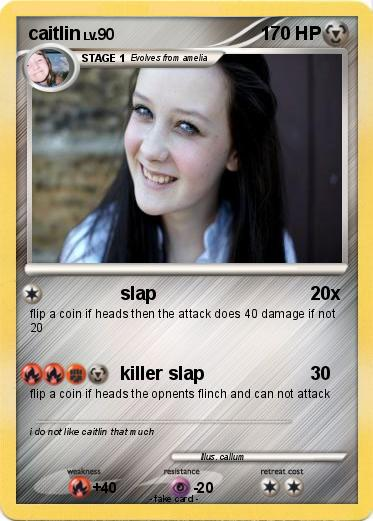Pokémon caitlin 30 30 - slap - My Pokemon Card