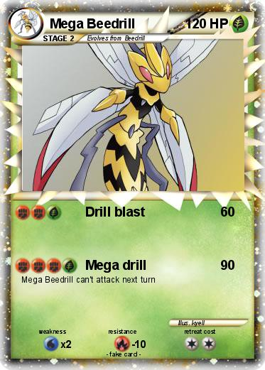 ... Pokemon Coloring Pages Mega Beedrill