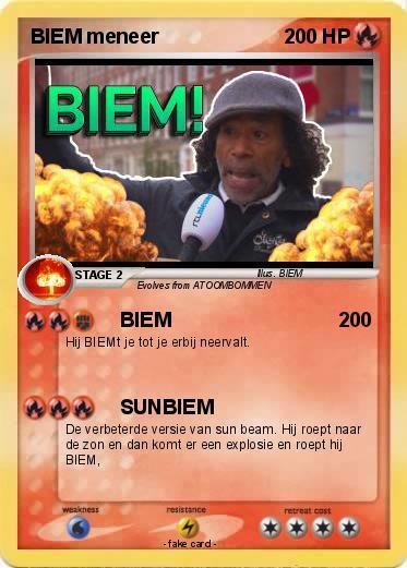 Pokemon BIEM Meneer