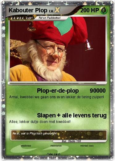 Kleurplaten Pokemon Ex.Pokemon Kabouter Plop Plop Er De Plop 90000 My Pokemon Card