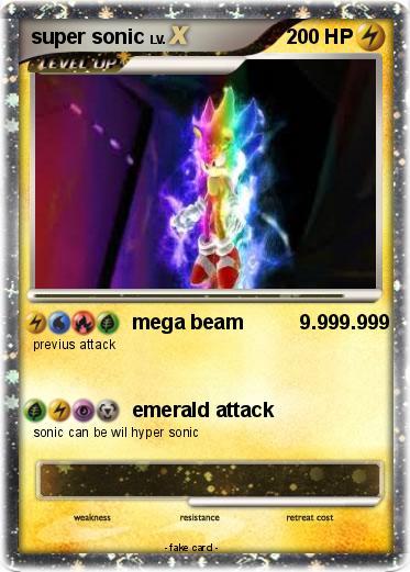 Pok 233 Mon Super Sonic 966 966 Mega Beam 9 999 999 My