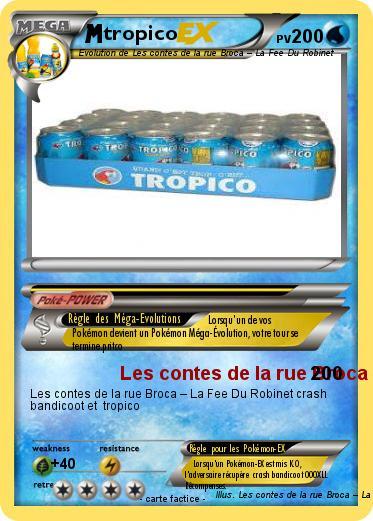 Pok mon tropico 2 2 les contes de la rue broca la fee - Conte de la rue broca la fee du robinet ...