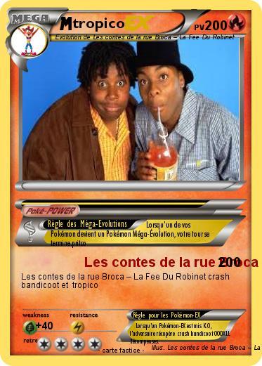 Pok mon tropico 9 9 les contes de la rue broca la fee - Conte de la rue broca la fee du robinet ...