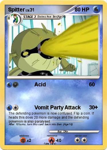 Pokémon Spitter 22 22 - Acid - My Pokemon Card
