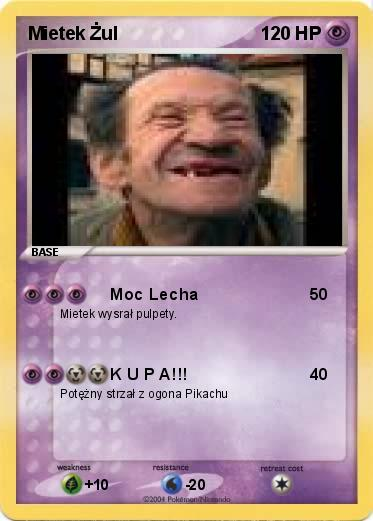 Pokemon Mietek Żul