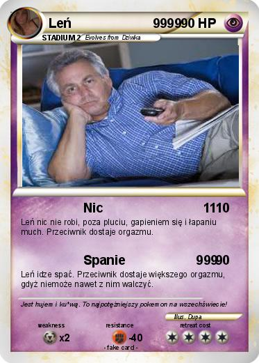 Pokemon Leń                       9999